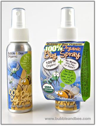 Organic bee repellent