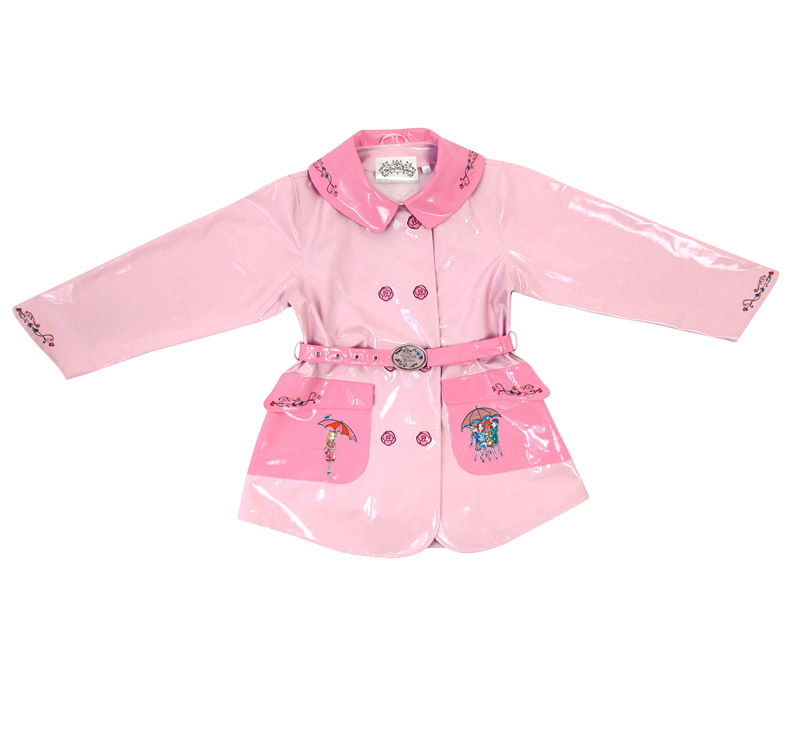 cute girls with roses. Roses Girls Raincoat is