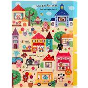 cute-Animals-Town-A4-plastic-file-folder-5-pocket-Kamio-160334-1