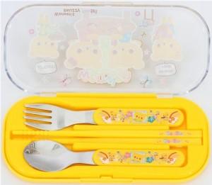 yellow-Bento-Cutlery-Set-four-bears-cute-78081-3