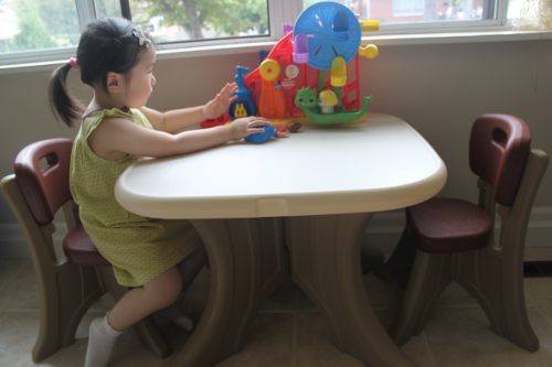 Step 2 New Traditions Table Amp Chairs Set Review Natural Mama