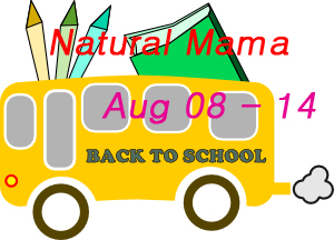 Natural Mama Back To School Giveaway