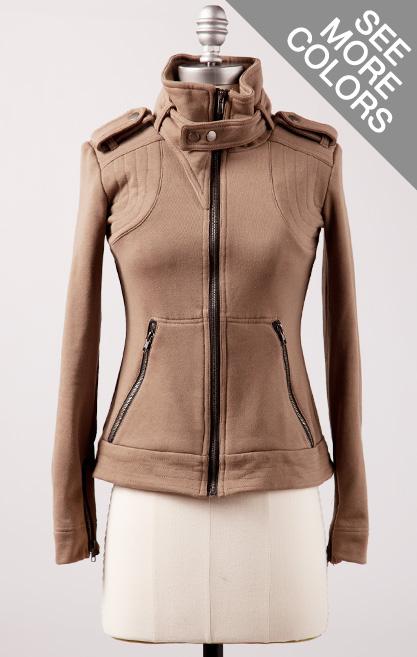 downeast basics zippy jacket
