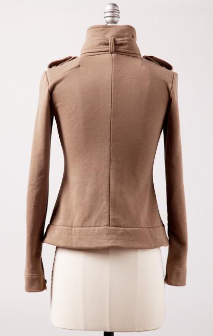 downeast basics zippy jacket back
