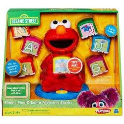 SESAME STREET PLAYSKOOL Elmo's Find & Learn Alphabet Blocks