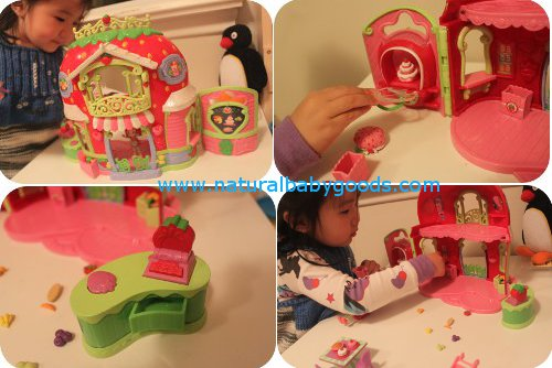 strawberry shortcake playset