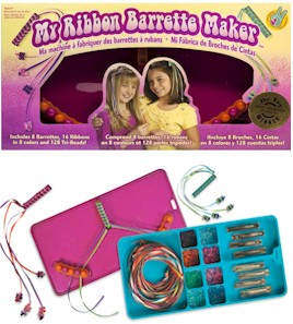 Ribbon Barrette Maker