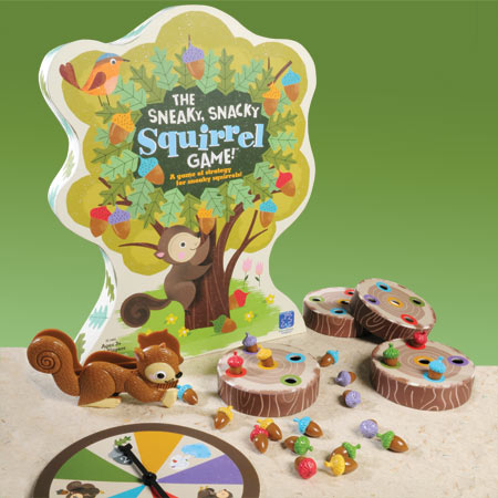 Sneaky, Snacky Squirrel Game from Educational Insights