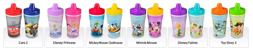 Disney Color Change Cups