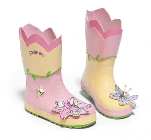 Kidorable lotus rain boots
