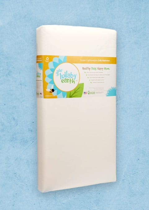 Lullaby Eearth Super Lightweight Crib Mattress