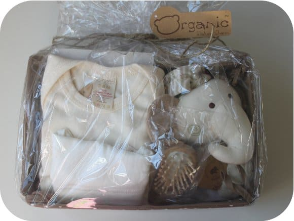 Organic baby gift set from what a jewel review and 50 gc giveaway organic elephant baby gift set negle Images