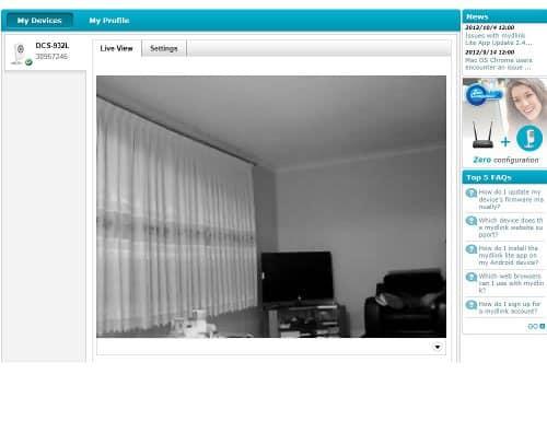 D-Link Cloud Camera 1100