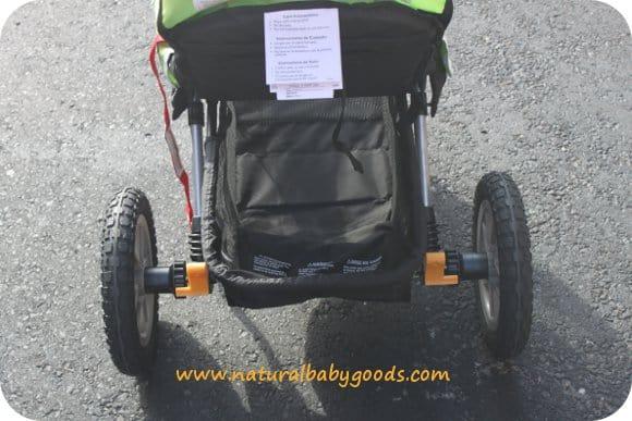 jeep stroller storage