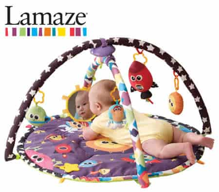 Lamaze Space Symphony Motion Gym Tummy Time