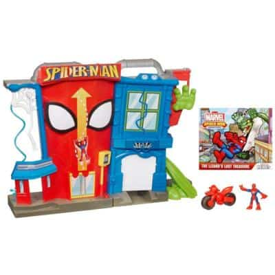 hasbro SPIDER-MAN STUNT CITY playset