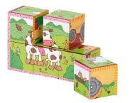sigikid cube puzzle farm