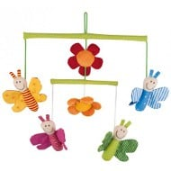sigikid soft mobile butterflies