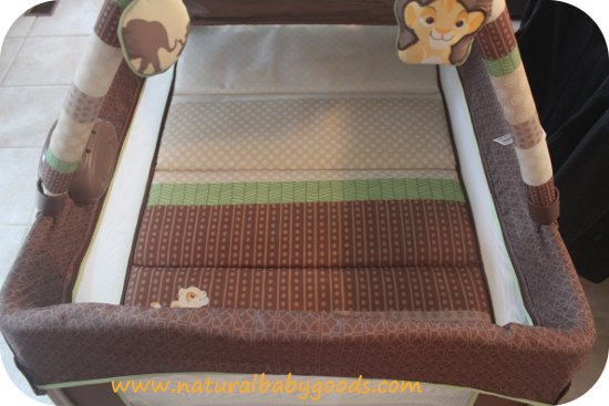 washable playard