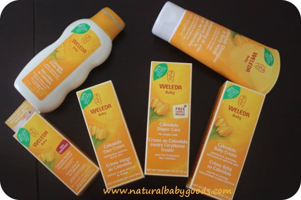 weleda baby skin care