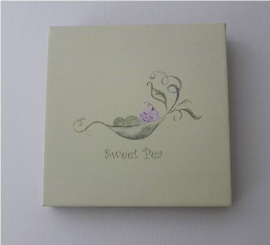 The Sweet Pea Wall Art For Your Nurseries Natural Mama