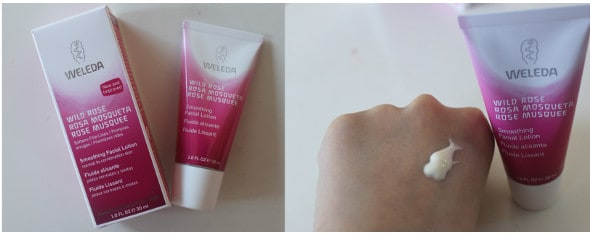 weleda wild rose face lotion