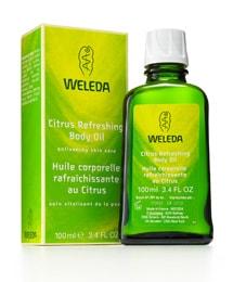 Weleda body oil review