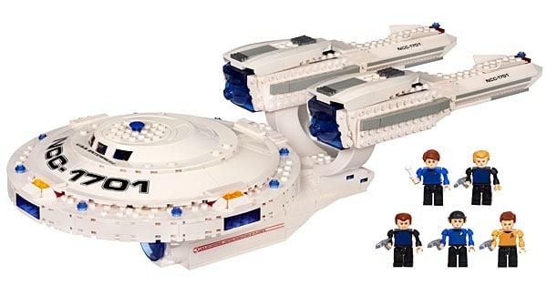 Kre O Star Trek Uss Enterprise Construction Set Natural Mama