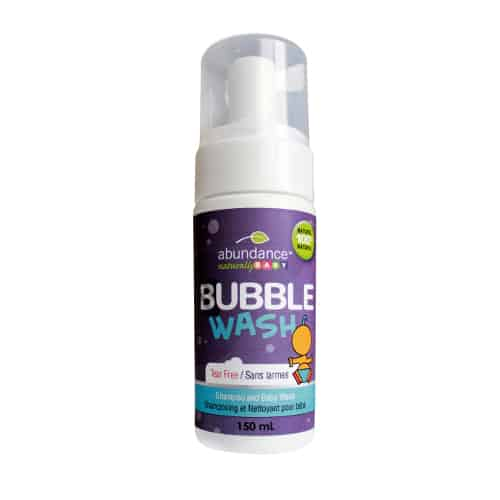 Abundance Naturally Baby Bubble Wash