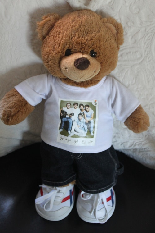 Build The Bear: One Direction Becomes Bears For Build-A-Bear