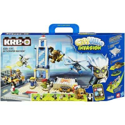 KRE-O CITYVILLE INVASION SKYSCRAPER MAYHEM Building Set