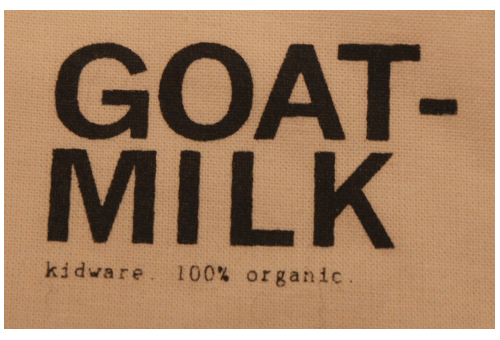 Goat Milk Nyc 100 Organic Cotton Kidware Natural Mama