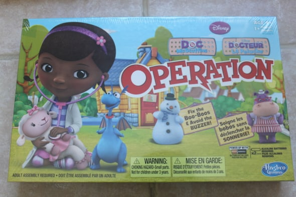 doc mcstuffins operation game instructions