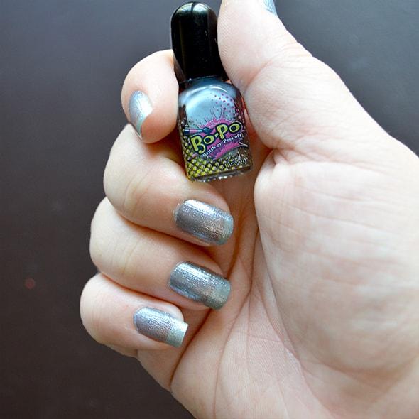 Cotton Candy Nail Polish Opi: Bo-Po Brush-on, Peel-off Nail Polish