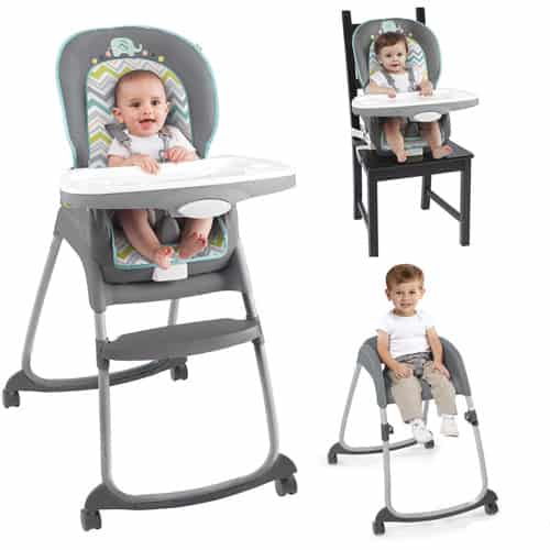 Ingenuity trio 3 in 1 deluxe high chair review natural mama for Chaise haute 3 en 1