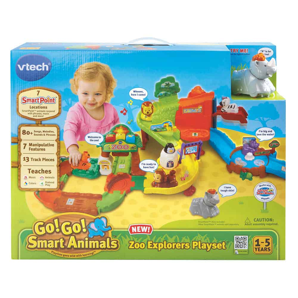 Go! Go! Smart Animals – Zoo Explorers Playset From VTech