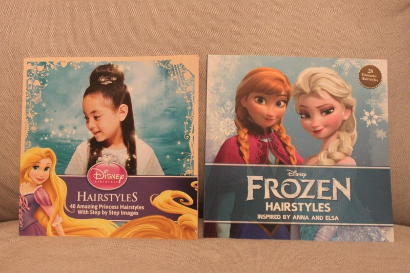 Disney Frozen Hairstyles and Disney Princess Hairstyles Books