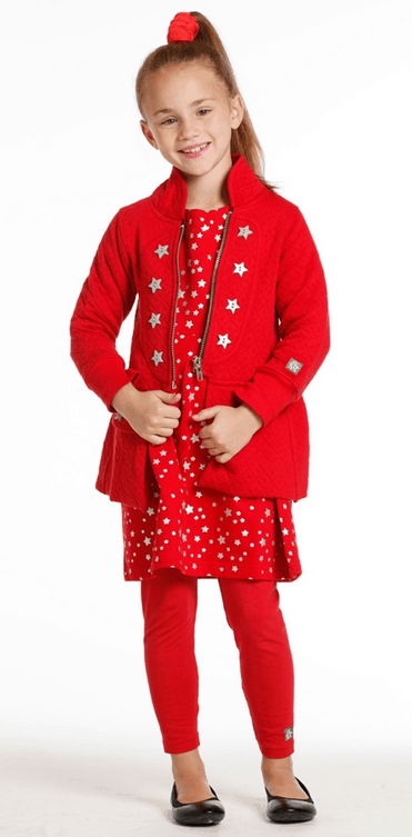 KidCuteTure Jeane Quilted Jersey Jacket