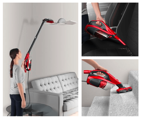 DIRT DEVIL 360° REACH BAGLESS STICK VACUUM