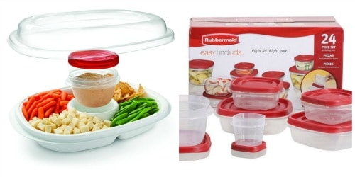 Rubbermaid Party Platter and Easy Find Lids