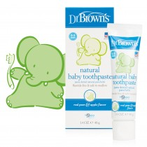 Dr Browns natural baby toothpaste