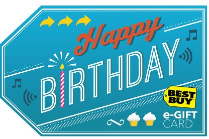 best buy birthday gift card - Natural Mama