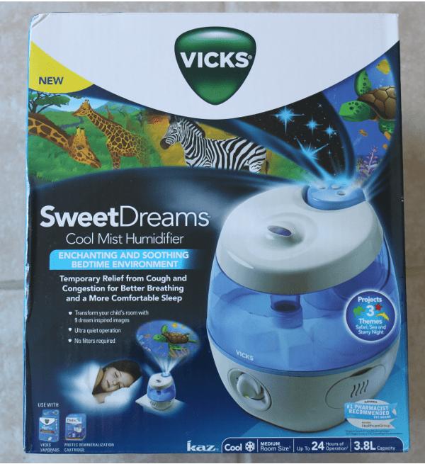 Vicks Sweetdreams Cool Mist Humidifier And Braun