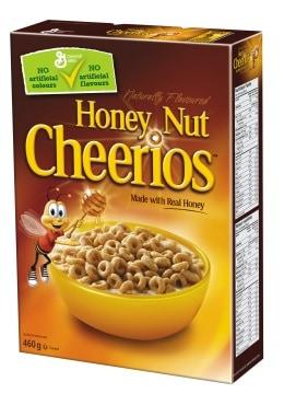 are honey nut cheerios gluten free in canada