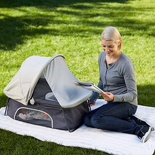 diono travel bassinet