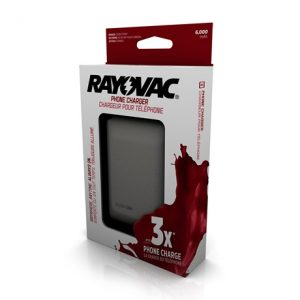 rayovac power charger