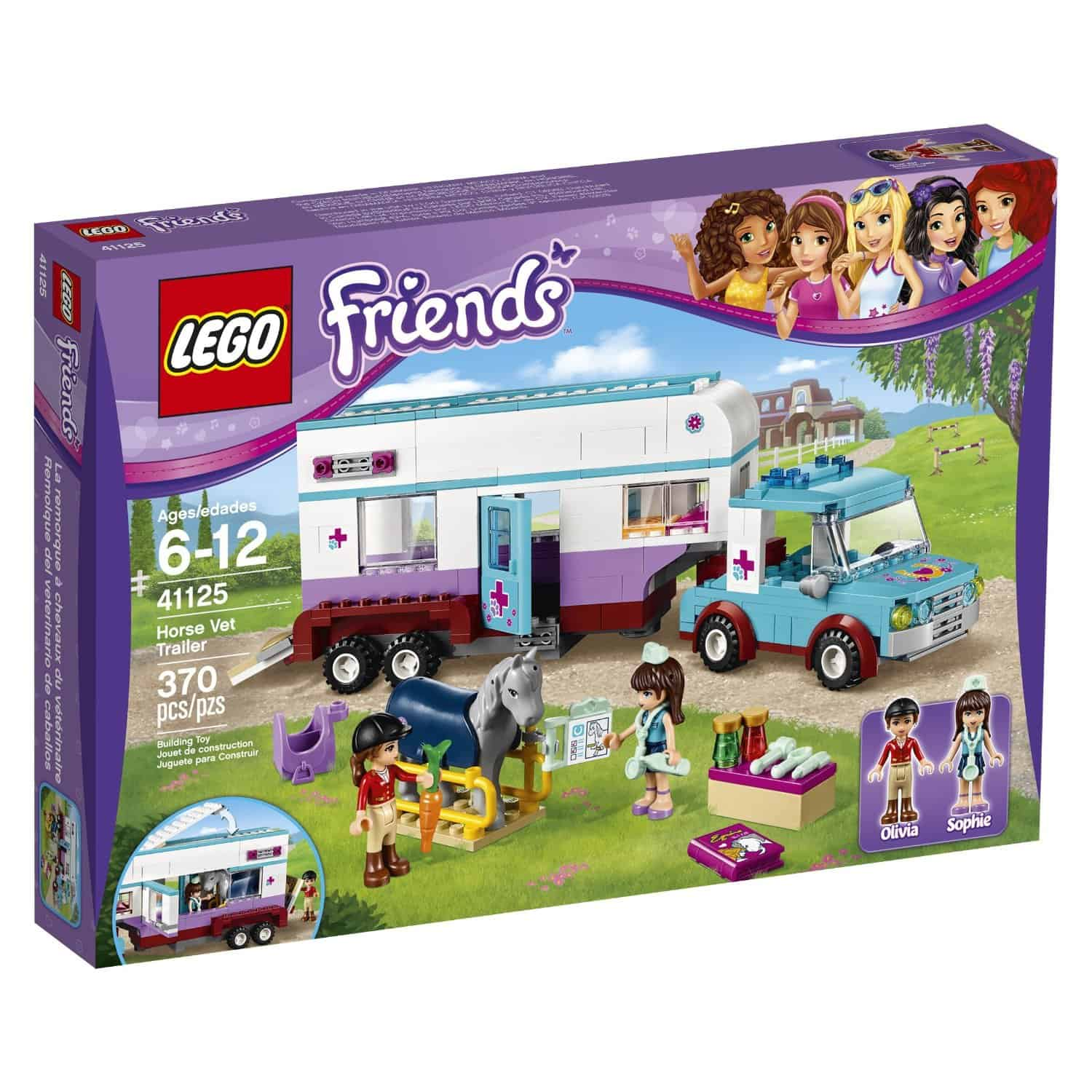 Lego Friends Horse Vet Trailer