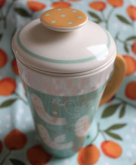 hallmark ceramic tea mug