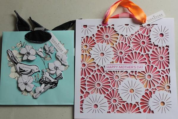 hallmark gift bags