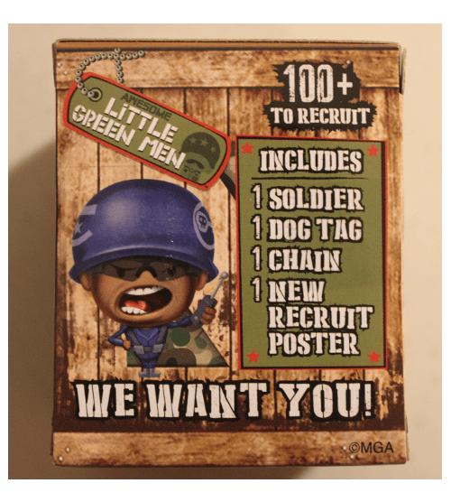 little green men blind box
